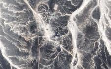 Pléiades : zoom sur la zone du crash dans le Sinaï égyptien
